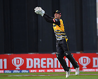 Tom Blundell in action during the men's Dream11 Super Smash cricket match between the Wellington Firebirds and Northern Knights at Basin Reserve in Wellington, New Zealand on Saturday, 9 January 2021. Photo: Dave Lintott / lintottphoto.co.nz