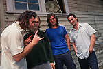 Various portrait sessions of the rock band, Dishwalla
