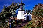Famous lighthouse on Cape Mears, near Tillamook, OR.
