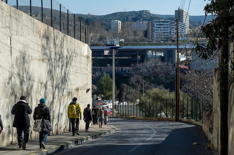 """Civic City / Rudy Bauer / Imke Plinta : le quartier créatif """"Prototype"""" des Aygalades - Zone franche urbaine ZFU - Marseille 2013"""
