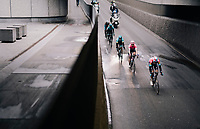 Bob JUNGELS (LUX/Deceuninck-Quick Step) leading the breakaway underground...<br /> <br /> 71th Kuurne-Brussel-Kuurne 2019 <br /> Kuurne to Kuurne (BEL): 201km<br /> <br /> ©kramon