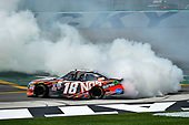 NASCAR XFINITY Series<br /> Alsco 300<br /> Kentucky Speedway, Sparta, KY USA<br /> Saturday 8 July 2017<br /> Kyle Busch, NOS Energy Drink Rowdy Toyota Camry celebrates<br /> World Copyright: Barry Cantrell<br /> LAT Images