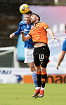 Dundee United v St Johnstone…..01.08.20   Tannadice  SPFL<br />Jamie McCart and Nicky Clark<br />Picture by Graeme Hart.<br />Copyright Perthshire Picture Agency<br />Tel: 01738 623350  Mobile: 07990 594431