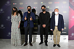 Isabel Jimenez, Carlos Bardem, Jon Kortajarena and Tote Trenas attend the Climate Leaders Awards 2021 at the Callao cinema on March 03, 2020 in Madrid, Spain.(AlterPhotos/ItahisaHernandez)