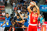 UCAM Murcia's player Billy Baron during the 3 shot contest of Supercopa of Liga Endesa Madrid. September 24, Spain. 2016. (ALTERPHOTOS/BorjaB.Hojas)