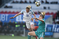 Harrison, N.J. - Sunday March 04, 2018: Kathrin Hendrich during a 2018 SheBelieves Cup match between the women's national teams of the Germany (GER) and England (ENG) at Red Bull Arena.