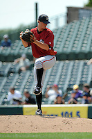 Altoona Curve pitcher Jason Townsend (48) during game against the Trenton Thunder at Samuel L. Plumeri Sr. Field at Mercer County Waterfront Park on August 22, 2012 in Trenton, NJ.  Altoona defeated Trenton 14-2.  Tomasso DeRosa/Four Seam Images