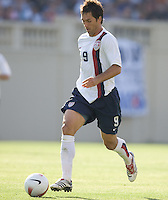 Ante Razov dribbles. The USA defeated China, 4-1, in an international friendly at Spartan Stadium, San Jose, CA on June 2, 2007.