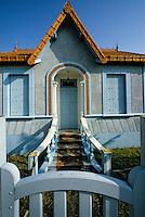 Europe/France/Poitou-Charentes/17/Charente-Maritime/Port-des-Barques: Maison bleue