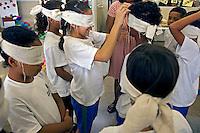 Atividade educacional em CEU de Capao Redondo. Sao Paulo. 2013. Foto de Lius Villaça.