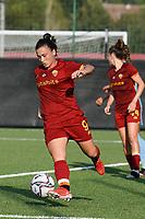 4th September 2021; Agostino di Bartolomei Stadium, Rome, Italy; Serie A womens championship football, AS Roma versus Napoli ; Valeria Pirone of AS Roma