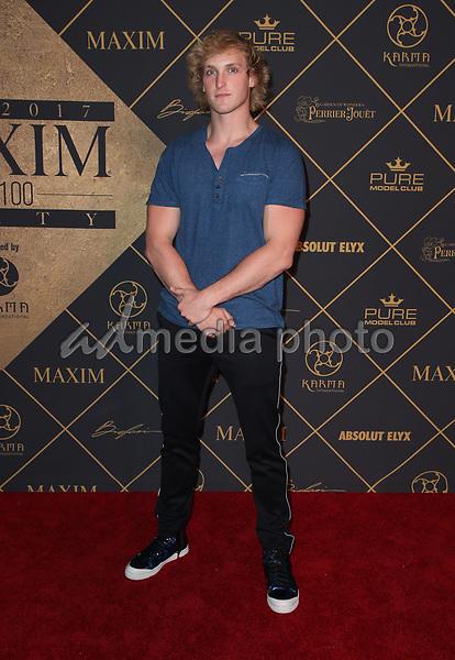 25 June 2017 - Hollywood, California - Logan Pau. 2017 MAXIM Hot 100 Party held at the Hollywood Palladium. Photo Credit: F. Sadou/AdMedia