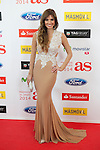 Esther Collado poses during AS Sport Female Awards ceremony in Madrid, Spain. December 15, 2014. (ALTERPHOTOS/Victor Blanco)