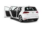 Car images of a 2015 Volkswagen GTI DSG SE PZEV 5 Door Hatchback Doors