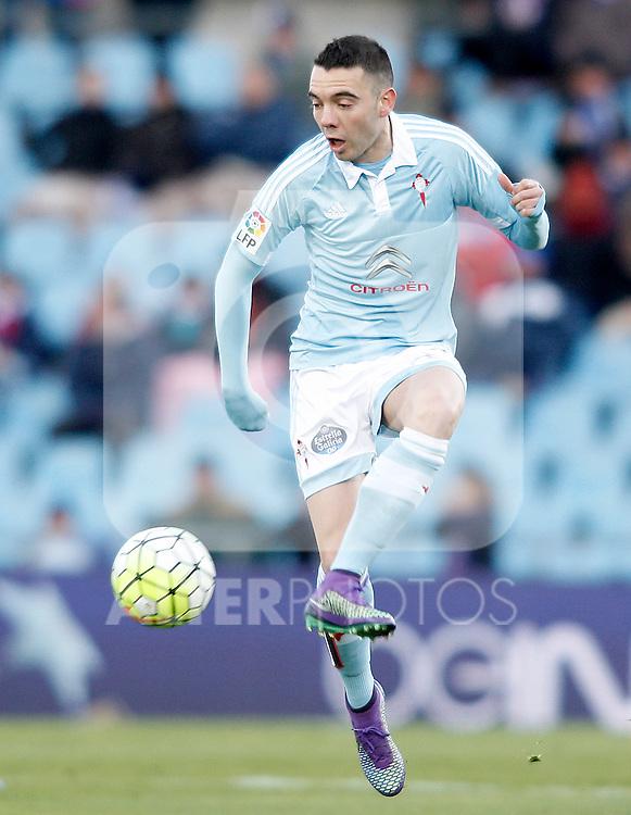 Celta de Vigo's Iago Aspas during La Liga match. February 27,2016. (ALTERPHOTOS/Acero)