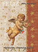 Alfredo, CHRISTMAS CHILDREN, WEIHNACHTEN KINDER, NAVIDAD NIÑOS, paintings+++++,BRTOCH31979CP,#xk# ,angel,angels