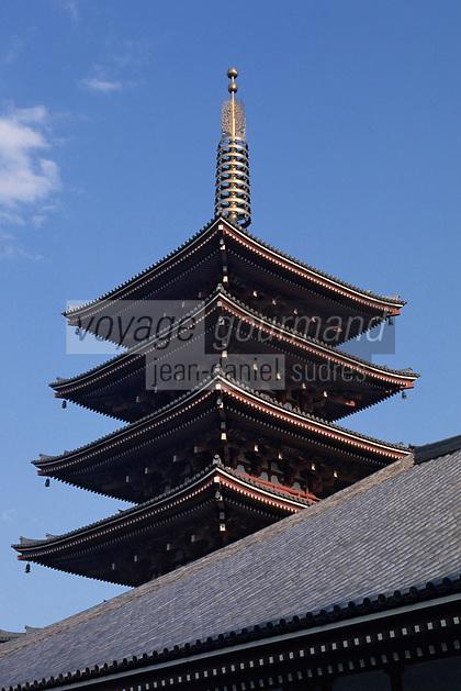 "Asie/Japon/Tokyo/Asakusa: Le temple ""Demboin"""