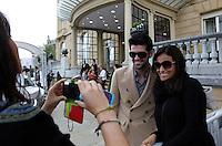 Actor Miguel Angel Muñoz arrives to Maria Cristina Hotel to attend the 61 San Sebastian Film Festival, in San Sebastian, Spain. September 20, 2013. (ALTERPHOTOS/Victor Blanco) /NortePhoto