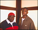 Jeff Dixon and Chaka Zulu, brothers, music promotors and producers.