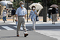 Japanese companies developing cool face masks for humid summer