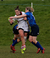 Sunday 3rd December 2017; Ulster Women vs Leinster Women<br /> <br /> Nikki Caughey during the Women's Inter-Pro between Ulster and Leinster at Dromore RFC, Barbon Hill, Dromore, County Down, Northern Ireland. Photo by John Dickson / DICKSONDIGITAL