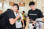 School Visit during The Asia League's 'The Terrific 12' at Studio City Event Center on 20 September 2018, in Macau, Macau. Photo by Chung Yan Man / Power Sport Images for Asia League