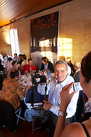 gala dinner at citadelles du vin wine competition bourg bordeaux france