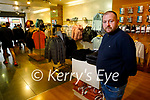 Frankie Murphy of Celsius at the new shop on the Mall
