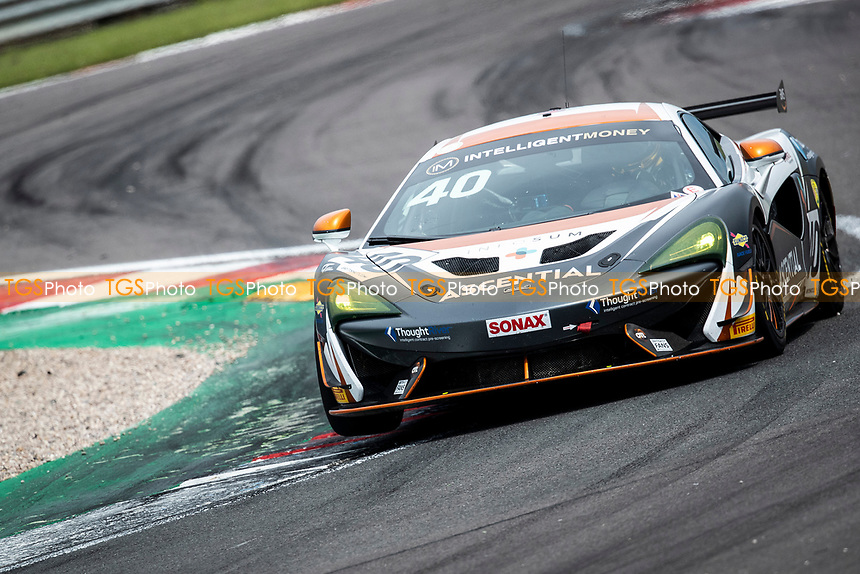 Nick Halstead & Jamie Stanley, McLaren 570S GT4, Fox Motorsport through Fogarty Esses during the British GT & F3 Championship on 11th July 2021