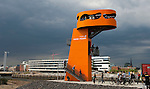130810: Hamburg - Baakenhafen, official opening of bridge