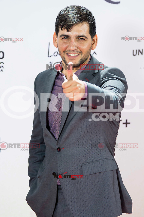 """Fran Perea during the premiere of the spanish film """"Un Monstruo Viene a Verme"""" of J.A. Bayona at Teatro Real in Madrid. September 26, 2016. (ALTERPHOTOS/Borja B.Hojas) NORTEPHOTO.COM"""
