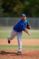 New York Mets Pitcher Joe Zanghi (73) during a minor league Spring Training game against the St. Louis Cardinals on March 28, 2017 at the Roger Dean Stadium Complex in Jupiter, Florida.  (Mike Janes/Four Seam Images)