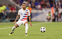 Lyon, France - Saturday June 09, 2018: DeAndre Yedlin during an international friendly match between the men's national teams of the United States (USA) and France (FRA) at Groupama Stadium.
