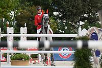10th September 2021; Circo Massimo Stadium Rome, Italy; Longines Global Equestrian Champions Tour:  Olivier Philippaerts