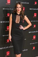 "Silvia Alonso attend the Premiere of the movie ""Musaranas"" in Madrid, Spain. December 17, 2014. (ALTERPHOTOS/Carlos Dafonte) /NortePhoto /NortePhoto.com"