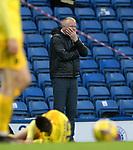 25.10.2020 Rangers v Livingston: Livingston manager Gary Holt