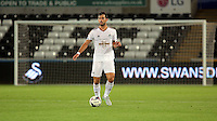 Pictured: Jordi Amat of Swansea Tuesday 25 August 2015<br /> Re: Capital One Cup, Round Two, Swansea City v York City at the Liberty Stadium, Swansea, UK.