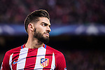 Yannick Ferreira Carrasco of Atletico de Madrid looks on during their 2016-17 UEFA Champions League match between Atletico de Madrid and PSV Eindhoven at the Vicente Calderón Stadium on 23 November 2016 in Madrid, Spain. Photo by Diego Gonzalez Souto / Power Sport Images