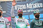 Peter Sagan (SVK) Bora-Hansgrohe at sign on before the start of Stage 2 of Tirreno-Adriatico Eolo 2021, running 202km from Camaiore to Chiusdino, Italy. 11th March 2021. <br /> Photo: LaPresse/Gian Mattia D'Alberto | Cyclefile<br /> <br /> All photos usage must carry mandatory copyright credit (© Cyclefile | LaPresse/Gian Mattia D'Alberto)