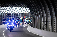 2 km from the finish in Val thorens<br /> <br /> shortened stage 20: Albertville to Val Thorens(59km in stead of the original 130km due to landslides/bad weather)<br /> 106th Tour de France 2019 (2.UWT)<br /> <br /> ©kramon