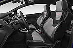 Front seat view of a 2014 Ford FIESTA ST MT 2WD 3 Door Hatchback 2WD Front Seat car photos