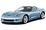 Front three quarter view of a 2012 Chevrolet Corvette GS Coupe .