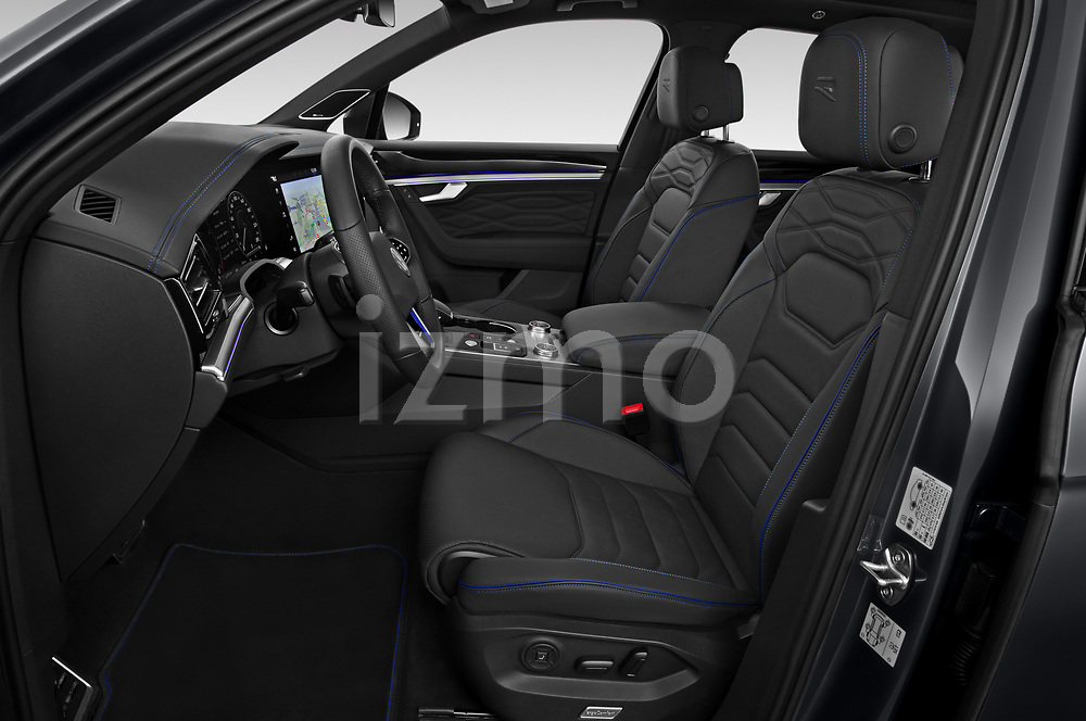 Front seat view of 2021 Volkswagen Touareg R 5 Door SUV Front Seat  car photos