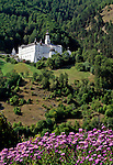 Italy, South-Tyrol, Alto Adige, Vinschgau (Val Venosta), Burgusio: Benedictine monastery Marienberg | Italien, Suedtirol, Vinschgau, Burgeis: Benediktinerstift Marienberg