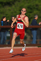 4 May 2008: Stanford Cardinal Andrew Dargie during Stanford's Payton Jordan Cardinal Invitational at Cobb Track & Angell Field in Stanford, CA.