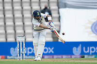 Virat Kohli, India turns the ball uppishly into the on side for runs during India vs New Zealand, ICC World Test Championship Final Cricket at The Hampshire Bowl on 19th June 2021