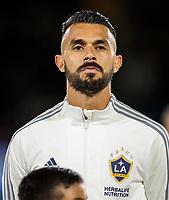 Giancarlo Gonzalez #21 of the Los Angeles Galaxy