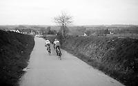 speeding down the Paterberg<br /> <br /> Dwars Door Vlaanderen 2014