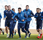 15.02.2019: Rangers training: Andy Halliday
