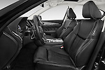 Front seat view of a 2015 Infiniti Q50 Sport 4 Door Sedan front seat car photos